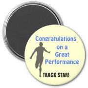 Track Guy 02 Custom Magnet magnet