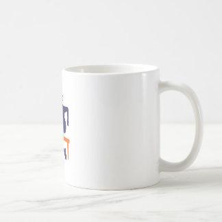 TRACK HURDLER CLASSIC WHITE COFFEE MUG