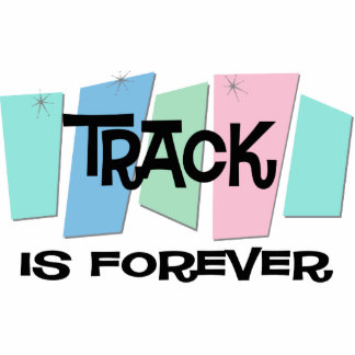 Track Is Forever Photo Sculpture