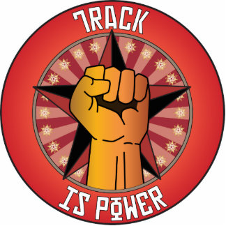 Track Is Power Photo Cut Out