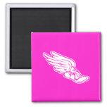 Track Logo Magnet Pink