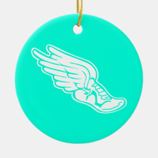 Running Shoe Christmas Ornament