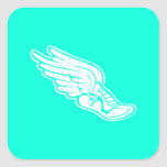 Track Logo Sticker Turquoise