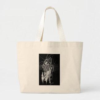 Track Marks Inverted Canvas Bag
