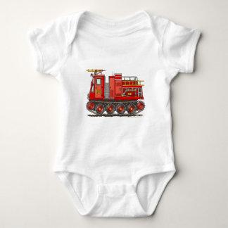 Track Rescue Pumper Fire Truck Firefighter T-shirt