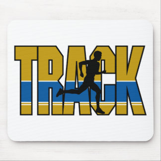 Track - Running Mouse Pad