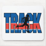 Track Running Mouse Pad