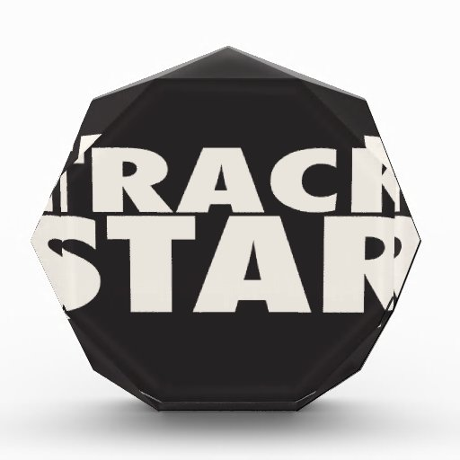 TRACK STAR ACRYLIC AWARD