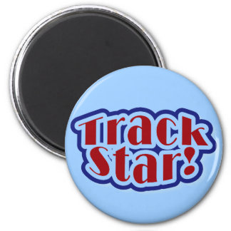 Track Star Tshirts and Gifts 2 Inch Round Magnet