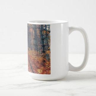 Track Through a Forest Mug