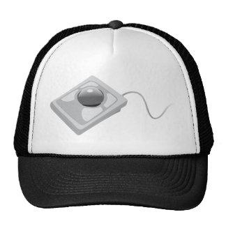 Trackball Mouse - Track Ball Computer Technology Mesh Hat