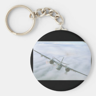 Tracker. (clouds;tracker_Military Aircraft Keychain
