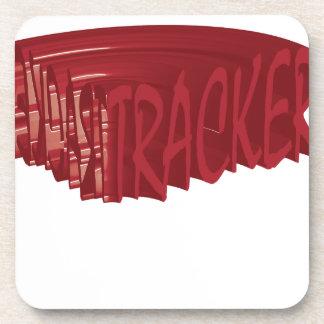 Tracker rock Rocker club Band Coaster