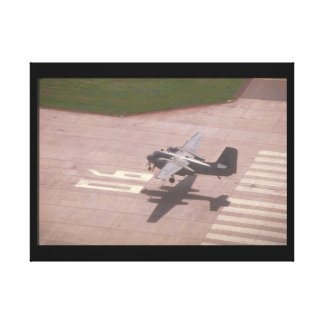 Tracker. (tracker;airplane_Military Aircraft Canvas Print