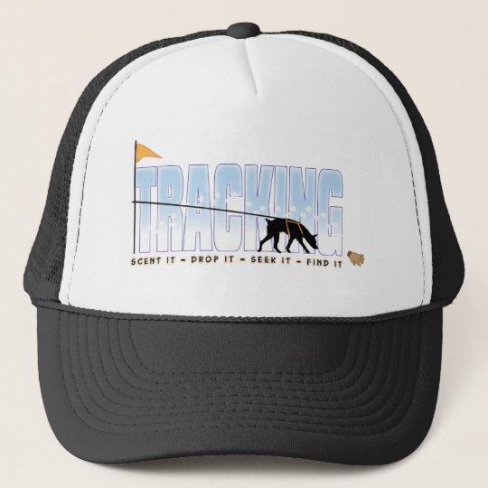 Tracking, Doberman Trucker Hat