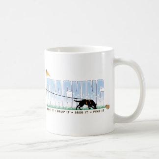 Tracking Dog Coffee Mug
