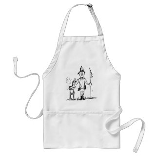 Tracking Smelly Boot Adult Apron