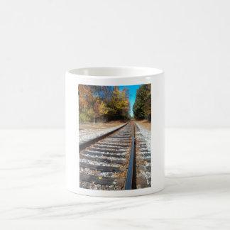 Tracks And Beyond Coffee Mug