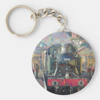 Tracks and Steam Keychain