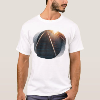 Tracks at Sunset T-Shirt