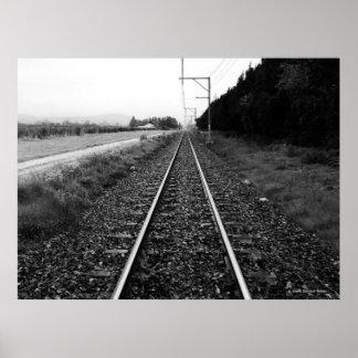 """""""Tracks"""" JTG Art Poster"""
