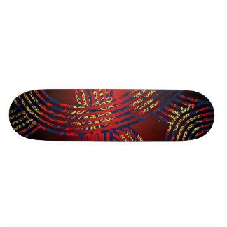 Tracks Pop Art Abstract Tire Treads Skateboard Decks