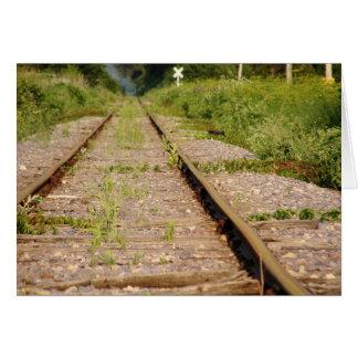 Tracks to Somewhere... Card