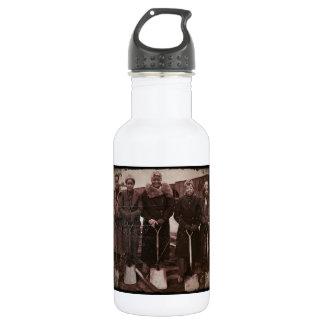 Trackwomen on Railroad WWII Water Bottle