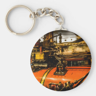 Traction Engine Keychain