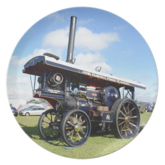 Traction Engine Renown Melamine Plate