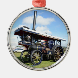 Traction Engine Renown Metal Ornament