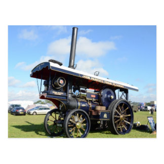 Traction Engine Renown Post Card