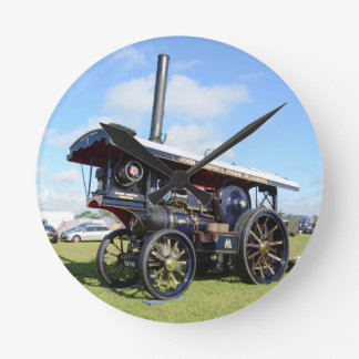 Traction Engine Renown Round Clock