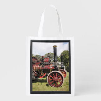 TRACTION ENGINES GROCERY BAG