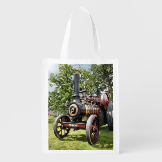 TRACTION ENGINES REUSABLE GROCERY BAG