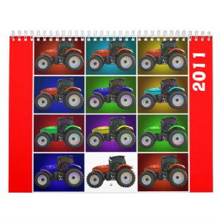 tractor, 2011 wall calendar