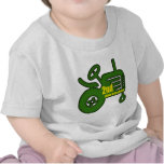 Tractor 2nd Birthday Gifts Tshirt