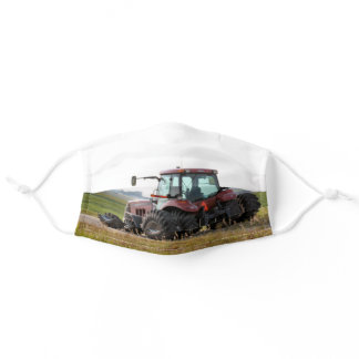 Tractor Adult Cloth Face Mask