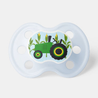 Tractor and Cornfield Pacifier