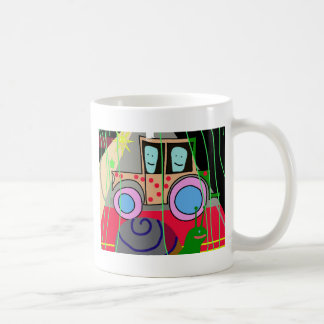 Tractor and snail coffee mug