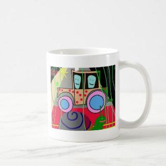 Tractor and snail coffee mug
