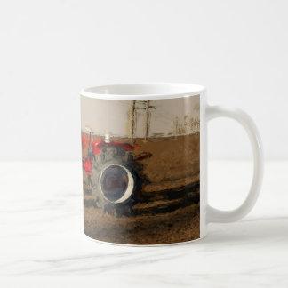 Tractor and territories of farming coffee mug