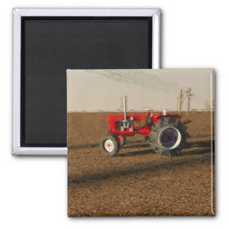 Tractor and territories of farming magnet