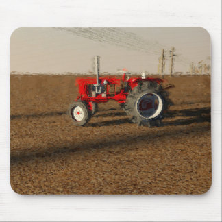 Tractor and territories of farming mouse pad