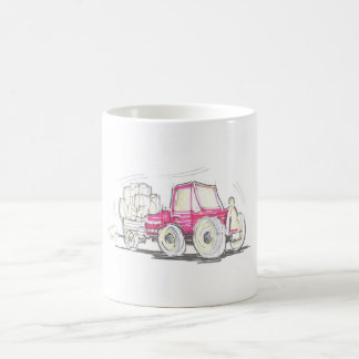 Tractor and Trailer Mug