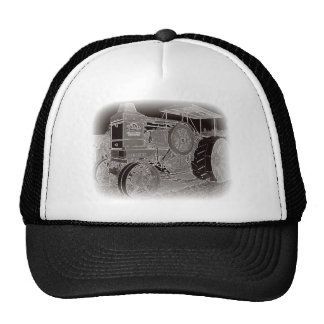 Tractor antiguo gorras de camionero