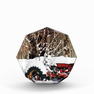 Tractor antiguo Nevado