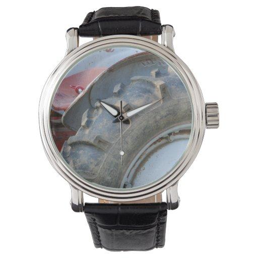 tractor antiguo relojes de pulsera