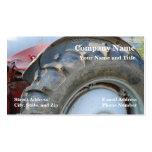tractor antiguo tarjetas de visita