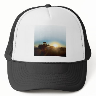 Tractor at Sunrise Cap